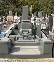 建墓工事施工例(松戸市営霊園)